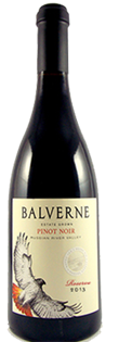 Balverne Pinot Noir 2013 750ml - Case of 12